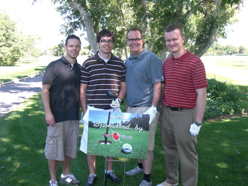 Red Olive Team at Habitat for Humanity Golf Tournament