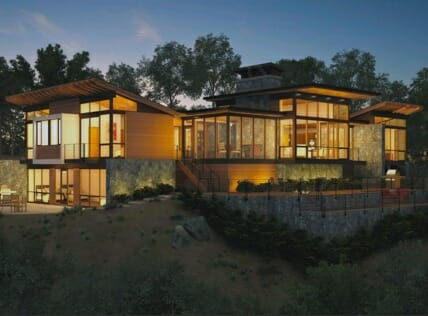 Pay per click services photo of modern home